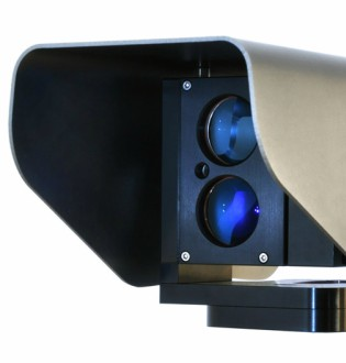 Laser Watch CCTV motion detection cameras