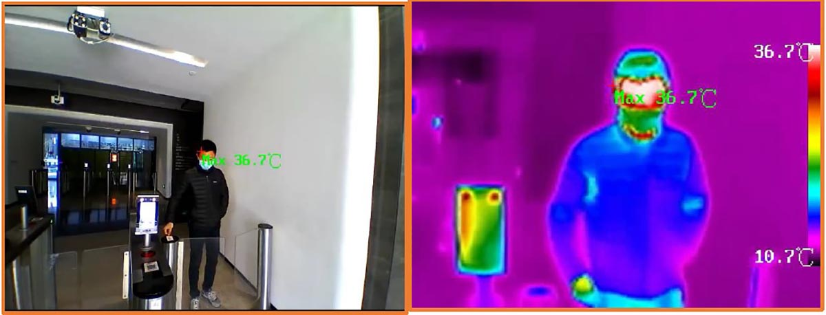 thermal image fever check