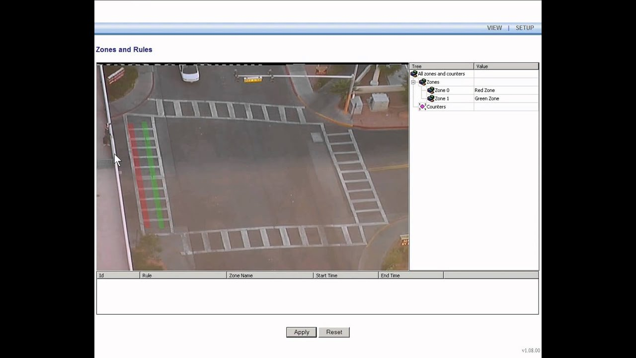 Object Counting on a CCTV System