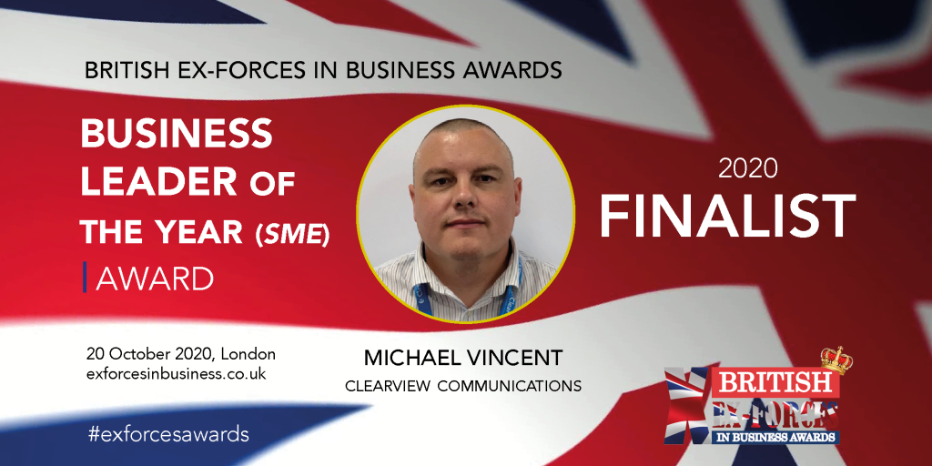Ex Forces in Buiness awards finalist