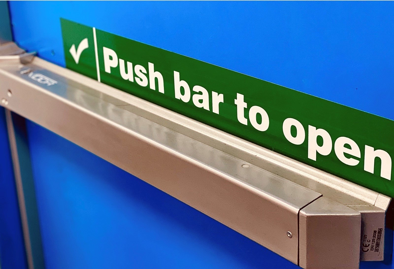 fire door panic bar