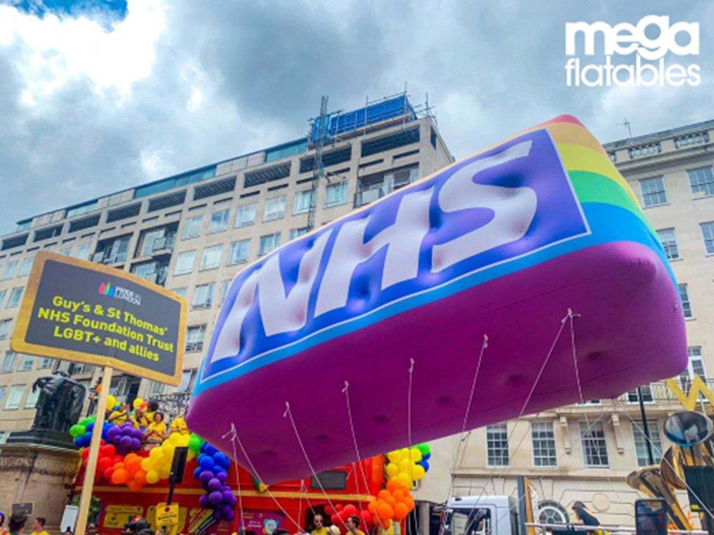 Megaflatables NHS pic